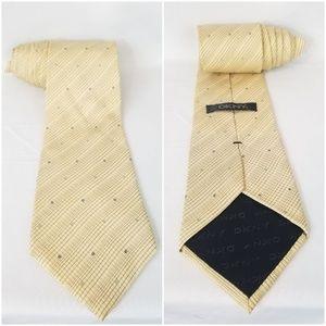 DKNY 100% Silk Neck Tie